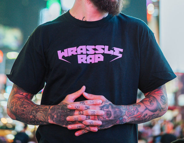 Wrassle Rap T-Shirt